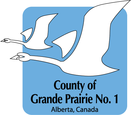 County of Grande Prairie No.1 Logo Print